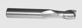VHM-Fräser mit 2 Schneiden