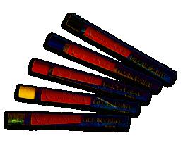 Auslegefarben/Füllstifte 190 mm